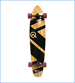 Quest Skateboards Bamboo Super Cruiser Longboard