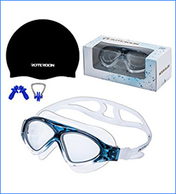 Roterdon Big Lens Swim Goggles
