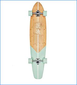 Ten Toes Emporium Zed Longboard