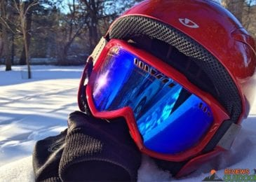 best snowboarding helmet and gloves
