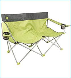 Coleman Quattro Lax Double Quad Chair