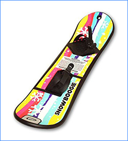 Wham-O Beginner Red Snowboard with Handle