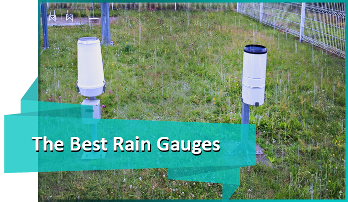 The best rain gauges