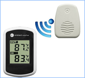 Ambient weather wireless thermometer