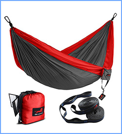 Honest Outfitters single and double camping hammock with hammock tree straps