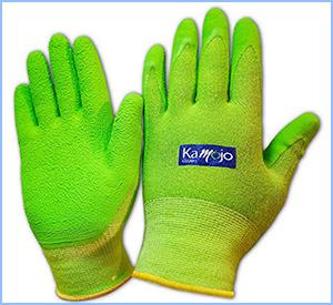 Kamojo bamboo garden gloves