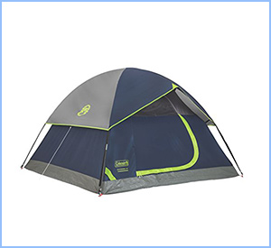 Sundome instant tent by Coleman