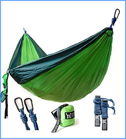 Winner Outfitters lightweight double camping hammock