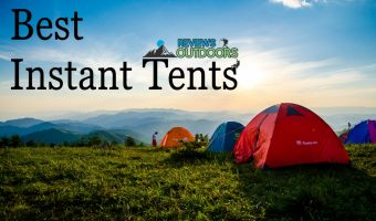 three instant tents on plains