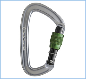black diamond screwgate carabiner