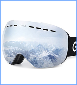 Gonex oversized professional ski goggles windproof