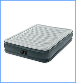 Intex Comfort Plus mid raise airbed with built in electric pump