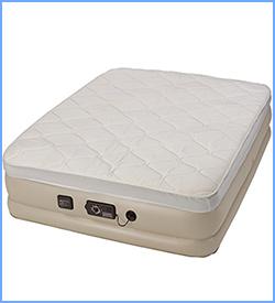 Serta raise air mattress with never flat pump