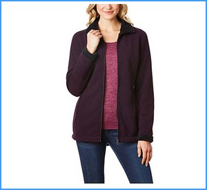 32 Degrees Ladies' Sherpa Lined Fleece Jacket