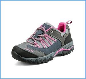 Clorts Women's Suede Hiking Shoe Waterproof