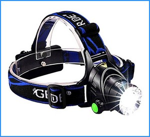 GRDE Zoomable 3 Modes Super Bright LED