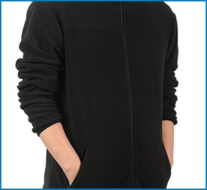 ILoveSIA Full Front Zip Fleece