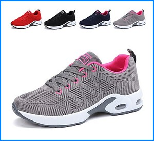 JARLIF Women's Breathable Fashion Walking Sneakers