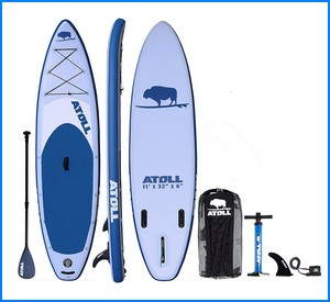"""Atoll 11'0"""" Foot Inflatable Stand up Paddle Board"""