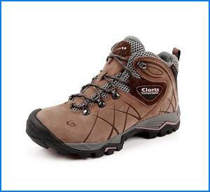Clorts Women's Nubuck GTX Waterproof Hiking Boot Outdoor Backpacking Shoe HKM802B