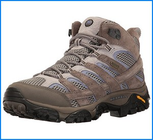 best hiking shoes for women from Merrell Women's Moab 2 Mid Waterproof Hiking Boot