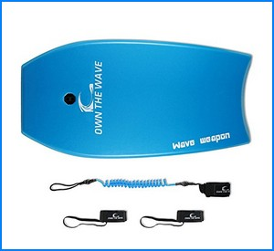 'Beach Attack Pack' - WAVE WEAPON Super Lightweight Body-board