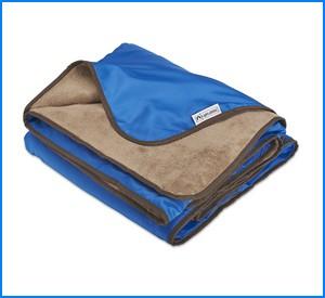 XL Plush Fleece Outdoor Stadium Rainproof and Windproof Picnic Blanket