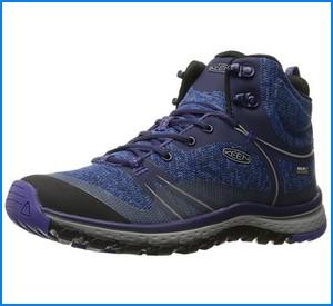 best hiking shoes for women from KEEN Women's Terradora Mid WP Hiking Shoe