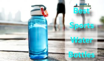 closeup on best sports water bottles