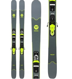 grey rossignol smash 7 skis