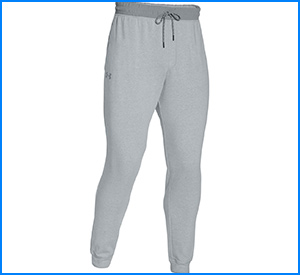 Under Armour Mens Tapered Leg Tricot Pants