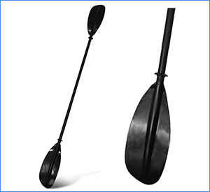 best naviskin 5 color 2 piece kayak paddle