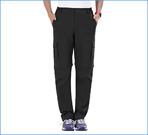 best nonwe outdoor convertible hiking pants for women