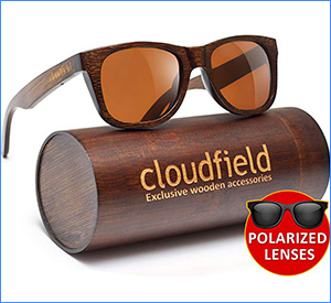 best cloudfield wood polarized sunglasses for fishing