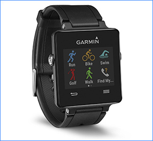 best garmin vivoactive black waterproof fitness tracker
