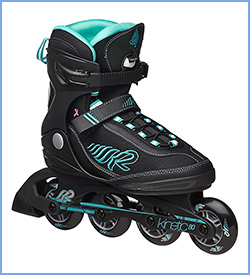 best k2 skate womens kinetic rollerblades