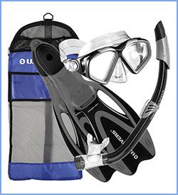 US divers cozumel snorkel gear