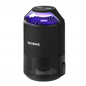 PESTKING Electric Insect Trap in black
