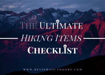 ultimate hiking checklist featured