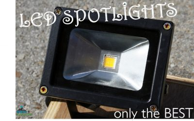 8 Top Outdoor LED Spotlights for Your Property | 2019 – 2020