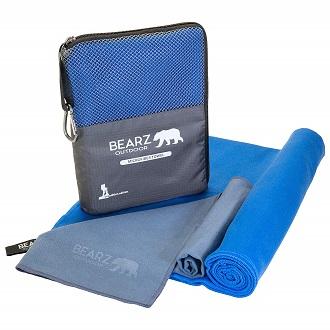 best BEARZ Outdoor Quick Dry Microfiber Towel