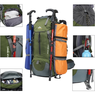 Loowoko Hiking Backpack