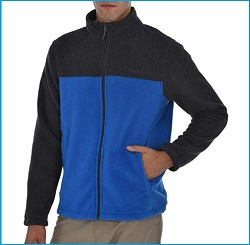 Swiss Alps Men's Performance Polar Fleece Jacket