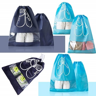 YAMIU Shoe Bags Dust-Proof Drawstring