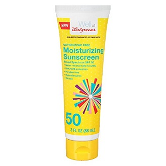 Walgreens Sunscreen SPF 50