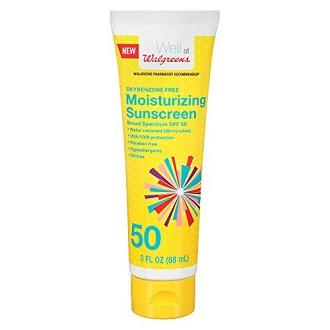 Walgreens Sunscreen SPF 50