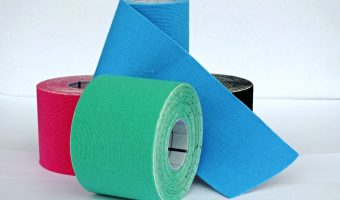 muscle recovery kinesiology tapes