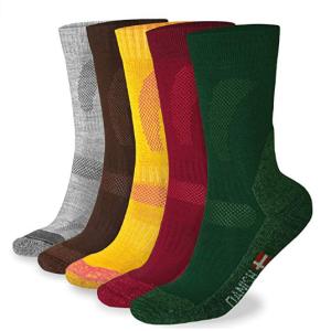 Danish Endurance Merino Wool Crew Socks for Hiking Trekking best Trail Running socks for Outdoors