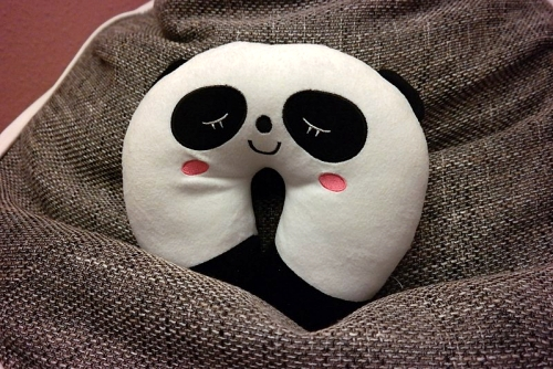 panda travel pillow