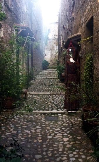 streets of calcata